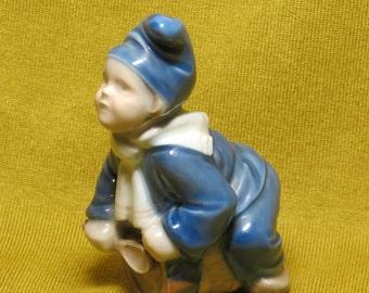 "Royal Copenhagen porcelain figure statue  ""Little drummer"""