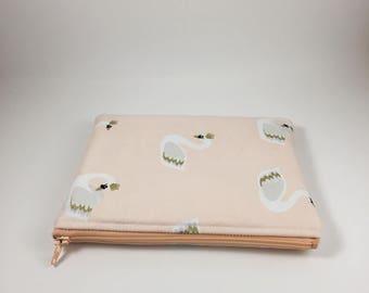 UNLIMITD - Elegant Swan Zipper Pouch - Zipper Bag - Travel Bag - Pencil Pouch