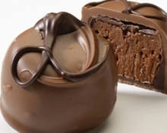 Milk Chocolate Fudge Love Truffle (LOCAL DELIVERY ONLY)