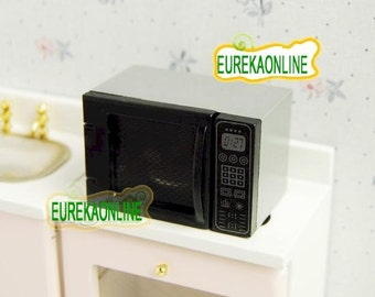 Dolls house miniature microwave