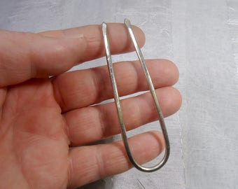 Free shipping / hair forks, alpaca, new silver wire!  Wire! Hair fork!