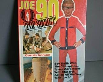 Joe 90 1969 Vintage Children's Annual Unclipped