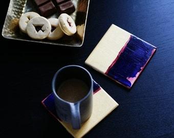 SALE Paint Palette Coasters (Set of 2)
