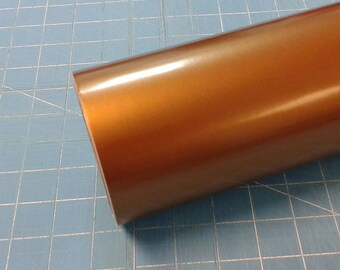 "Copper Metallic Oracal 651 12"" x 5' (5 feet) Roll * Sign Vinyl * Decal Vinyl"