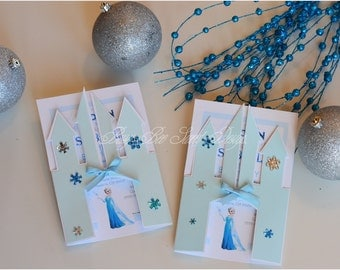 Frozen Invitations / Princess Castle Invitations / Princess Elsa