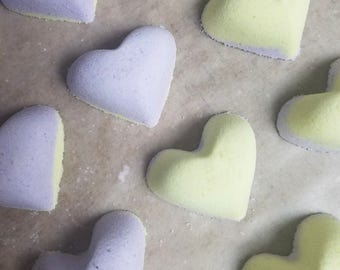 Lemon Lavender Heart
