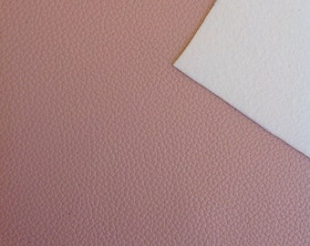 Dusty Pink - A4 Faux Leather Sheet