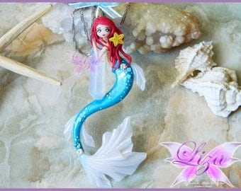 Little Mermaid / Ariel / Mermaid Necklace
