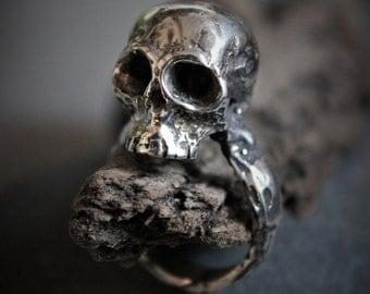 Ring Skull Sterling Silver