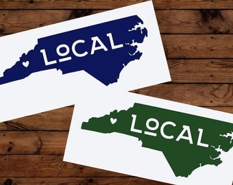 Asheville Local Decal