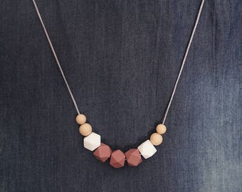 SCARLOTTE Silicone Teething Necklace