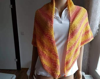 Spring/summer scarf approximately 200 grams. Wole Schachenmayr Donovan cotton