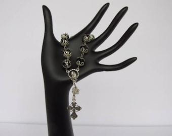 Black Single Decade Rosary