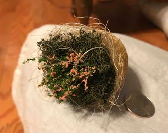 Tiny Flower Basket