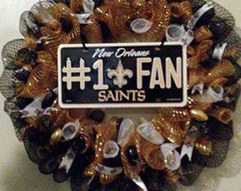 New Orleans Saints Wreaths