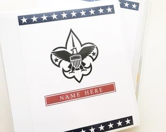 The Boy Scout Binder