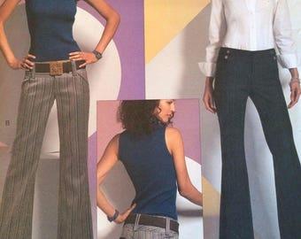 V2907 Vogue American Designer-Alice + Olivia Petite Pant Pattern - 16-18-20 Cut