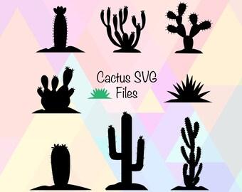 Cacti clipart | Etsy
