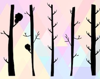 Tree Svg File   Tree SVG Designs   Tree Dxf   Tree Cricut Svg   Tree Trunk Svg File   Tree Clipart Svg   Tree Cut File   Tree Vector SVG