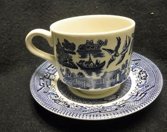 Vintage 1970 churchill saucer and cup