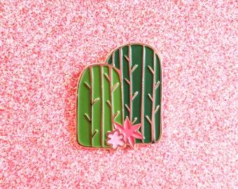 Cactus Enamel Pin