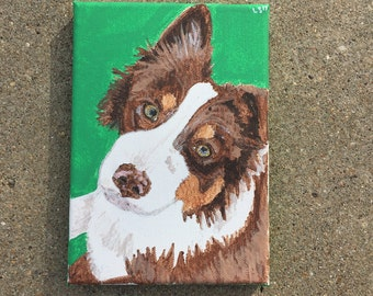 Custom Dog Portrait- Pet Paintings From Your Photos