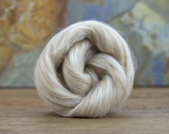 Fawn Alpaca/ Tussah Silk 100g