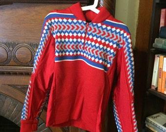 Vintage Demetre Ski Sweater