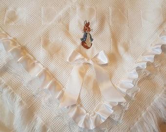Peter rabbit shawl