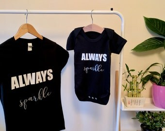 WOMEN'S SIZES mother and daughter gift, matching parent and child clothes, mum and baby, t-shirts, matching outfits, mum and baby matching