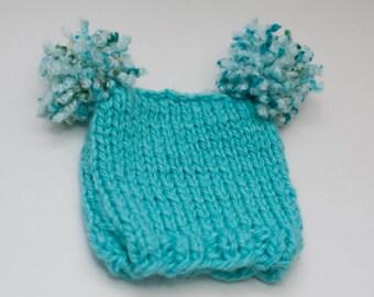 Aqua Jester Hat