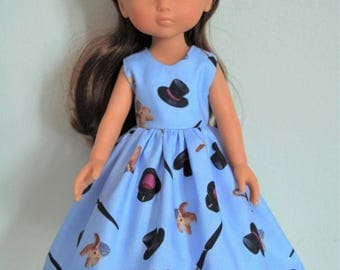 """Handmade Doll Clothes Dress fits 13"""" Corolle Les Cheries Dolls Handcraft 3"""