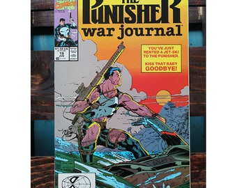 The Punisher War Journal 19 1988 1st Series