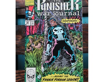 The Punisher War Journal 20 1988 1st Series