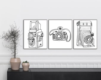 YOU PRINT - Vintage Camera Bundle Prints