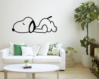 Snoopy Wall Art Decal Sticker Mural, Wall Decoration, Wall Picture, Home Decoration, Illustration #50