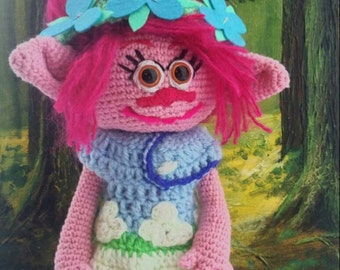 "Crochet ""Poppy"" the Troll."