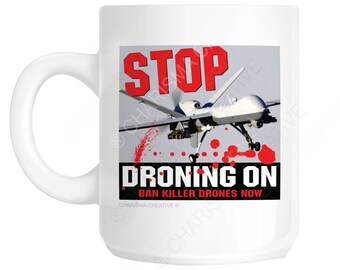 Drone Protest Mug CH470