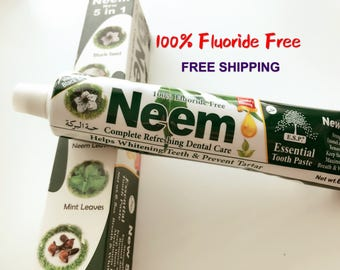 Flouride Free Neem Essential Toothpaste