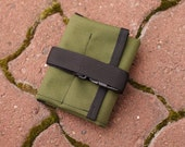 Bicycle Tool Roll for Saddle Rails - Olive Drab