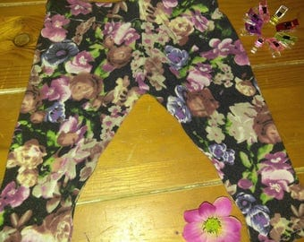 Baby floral leggings