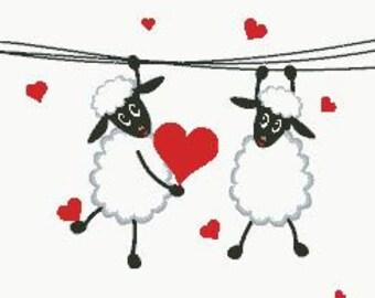 Cross Stitch Pattern In Love 2 PDF