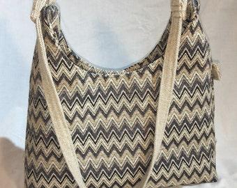ZigZag Tapestry Concealed Carry Handbag