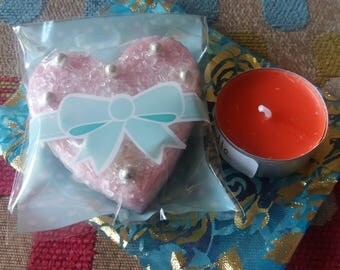 Bath Melt and candle gift set