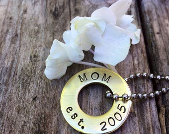 Dog tag / pet id /  pet tag / key chain / gift tag / hand stamped / gifts under 10 / custom id tag