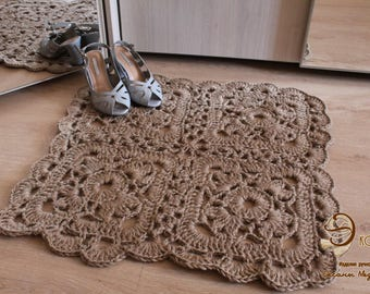 "Carpet made of jute ""Mini"""