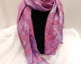 Ice dyed scarf- Princess