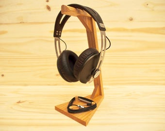 Headphone Stand - Oak