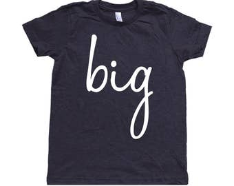 Big Sibling Toddler Shirt
