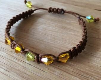 Sunburst Cord Bracelet